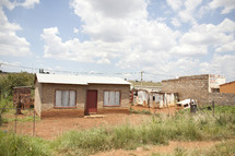 Shacks in Soweto Township