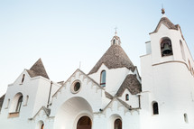St. Anthony church. Tourist attraction of Alberobello's town in Apulia. Italy.