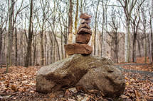 stacked rocks