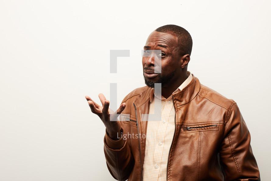 an African American man
