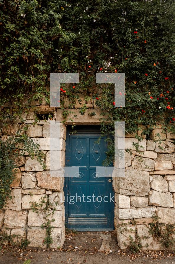 teal doors in Israel