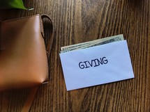 budgeting - giving envelope