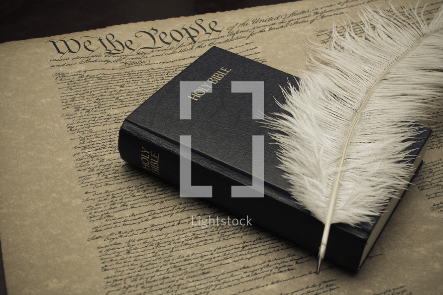 Holy Bible on the constitution