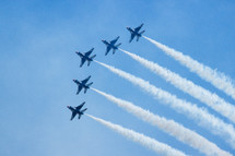 Fly over salute