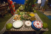 island buffet