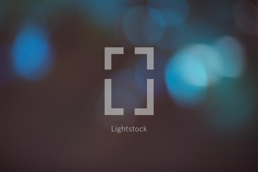 blurry bokeh lights background