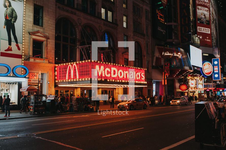 NYC McDonald's