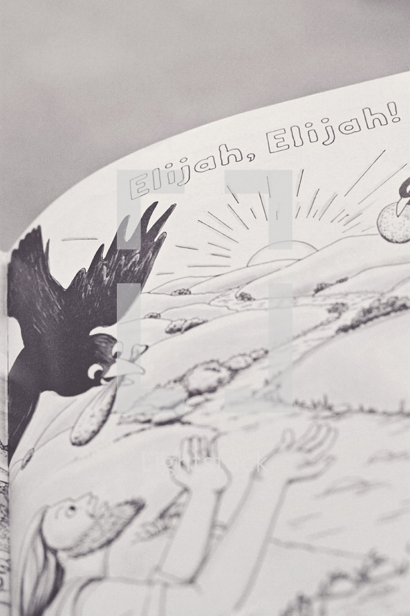 Elijah, Elijah drawing