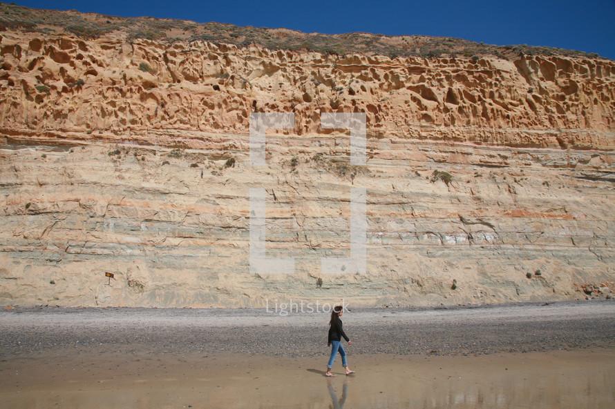 walking sea cliffs