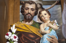 Saint Joseph with Baby Jesus