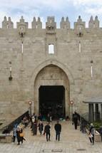 Damascus Gates, Old City, Jerusalem