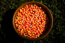 pot of candy corn