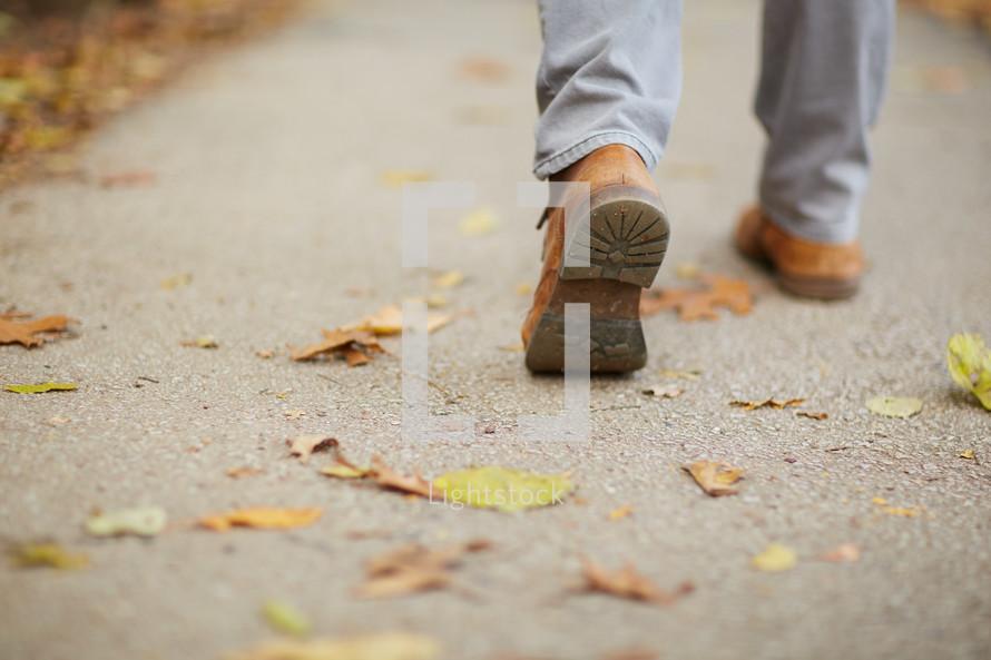 walking boots