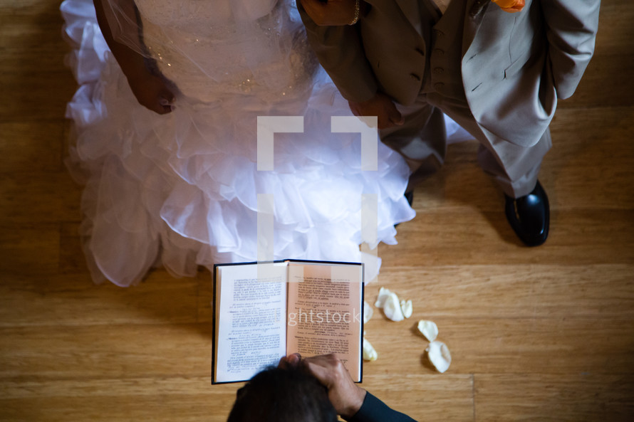 bride and grooms vows