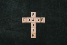 cross, faith and grace