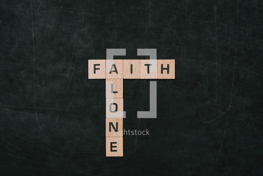 faith and alone