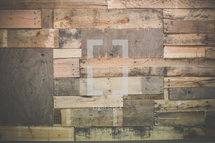patchwork wood boards