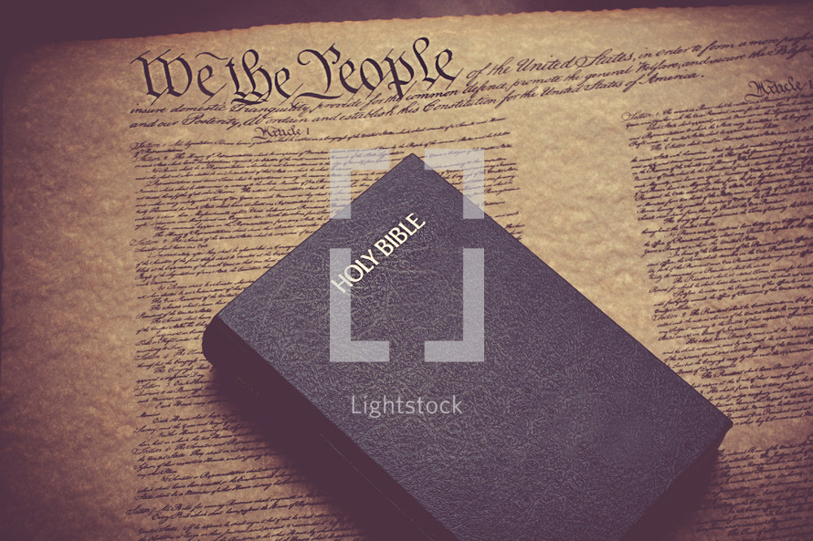 Bible on the constitution of the United States of America
