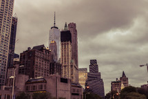 tall city buildings in NYC
