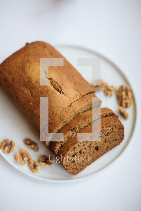 sliced bread loaf