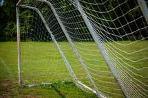 net on a soccer goal