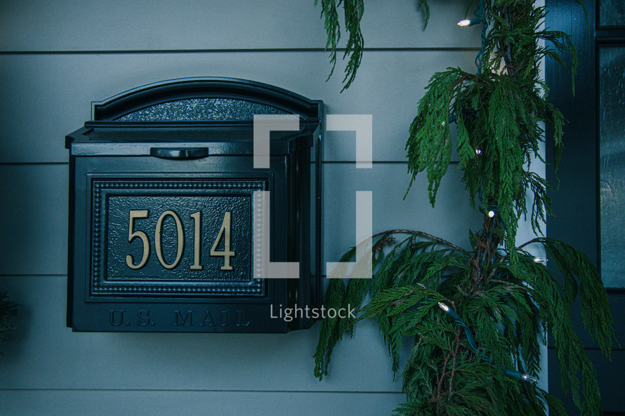 door mailbox