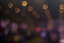 Blurred lights - Bokeh