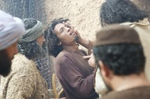 Jesus Heals Two Blind Men