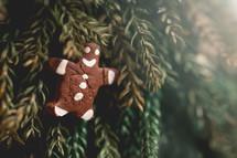 gingerbread man brownie