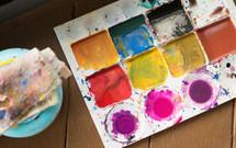 dried paints