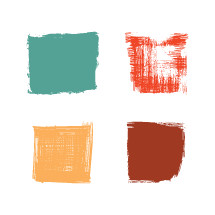 painted squares