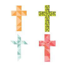 origami crosses