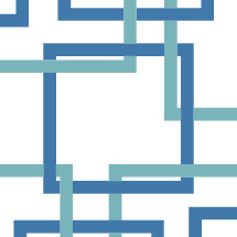 connection, pattern, blue, abstract, background, squares