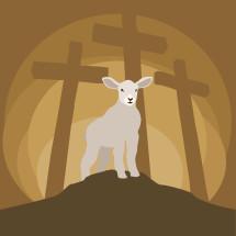 lamb on mount