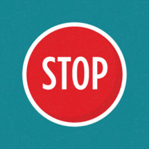 circle stop button