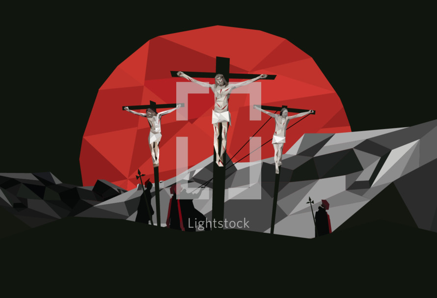 The Crucifixion illustration