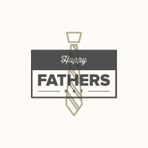 Happy Father's Day with tie