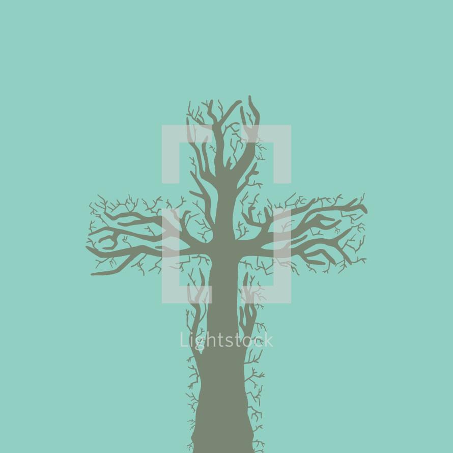 tree cross