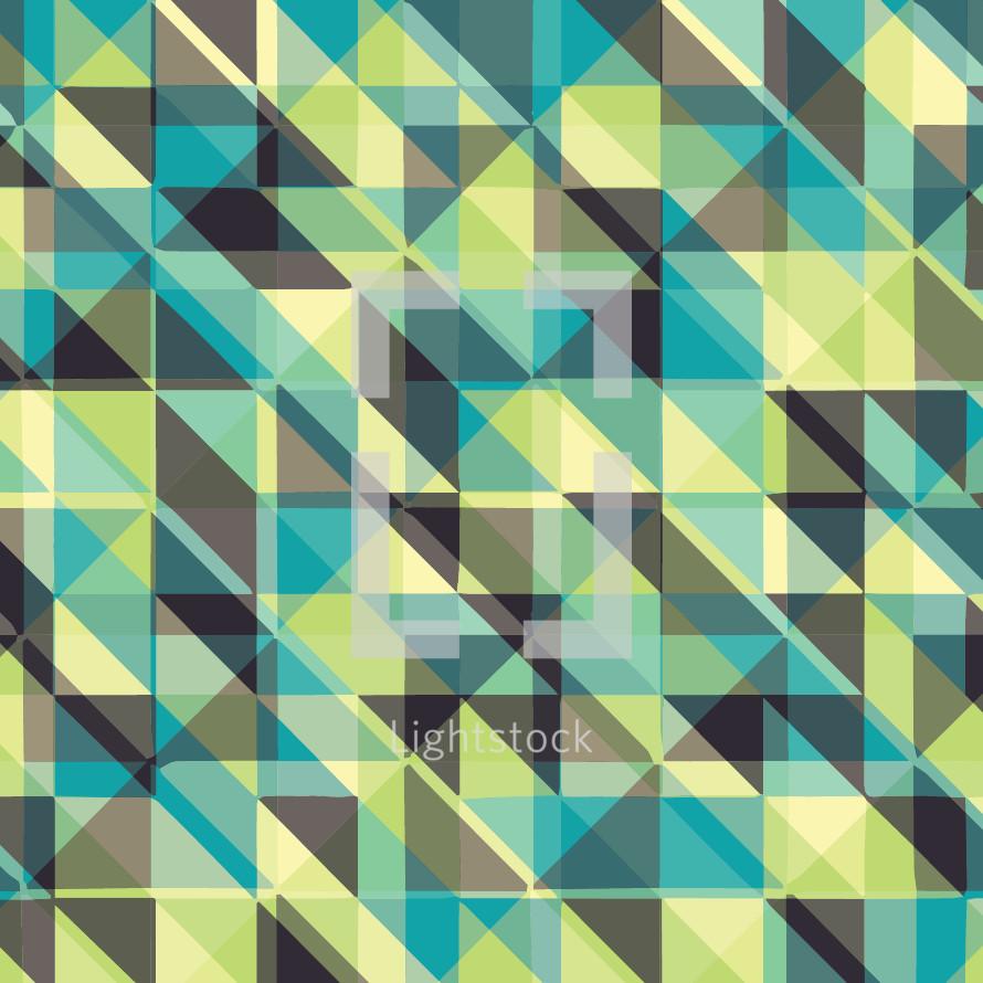 triangle pattern plaid background