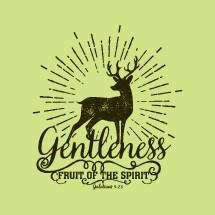 Fruit of the Spirit, Gentleness, Galatians 5:22