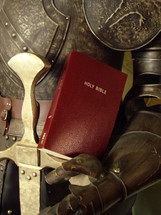 armor of God (ephesians 6,14): the belt of truth buckled around your waist, the breastplate of righteousness in place and (Ephesians 6,17): the sword of the Spirit, which is the word of God