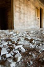 crumbling concrete