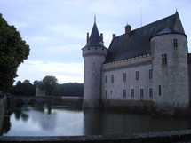castle with a water ditch
