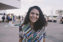picture of a smiling missionary