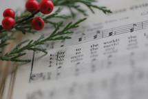 Joy to the World, Christmas hymn sheet music
