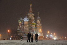 The St. Basil's Cathedral