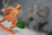 plastic toy warrior