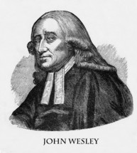 John Wesley, 1703 - 1791, Anglican theologian instrumental in establishing the Methodist denomination.