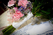 flower bouquet - God keeps his promises