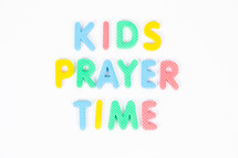 kids prayer time